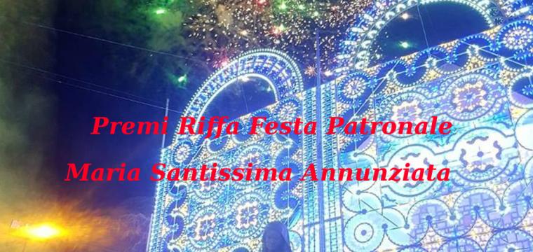 Premi Riffa Festa Patronale 2018