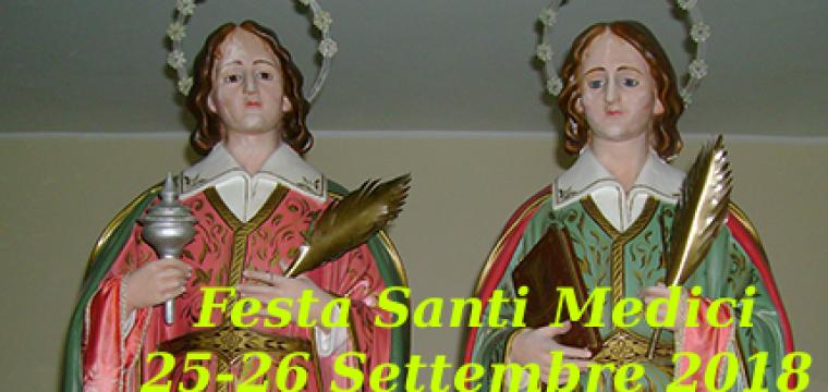 Premi riffa Santi Medici | 25-26 Settembre 2018
