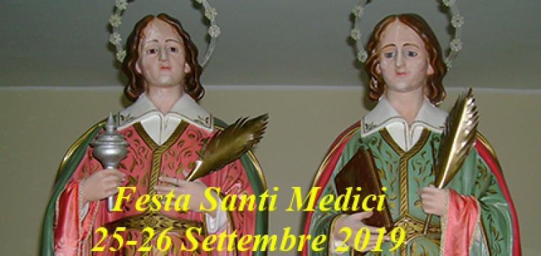 Premi riffa Santi Medici | 25-26 Settembre 2019