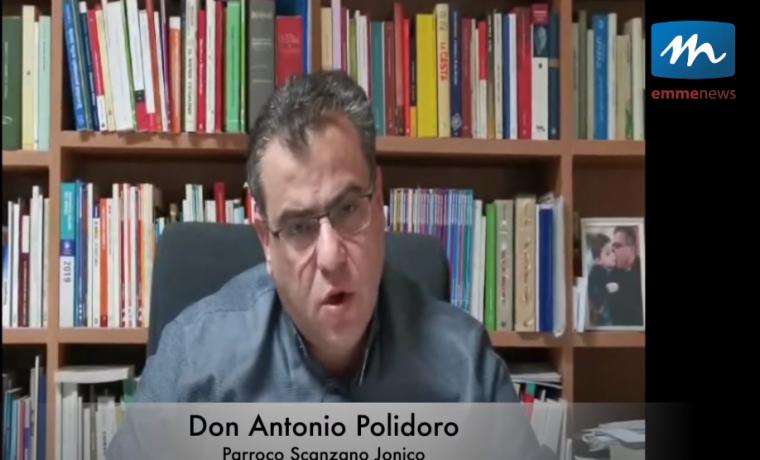 Gli auguri di Pasqua di Don Antonio Polidoro