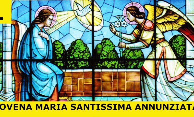 22-04-2020 – Primo Giorno – Novena a Maria Santissima Annunziata