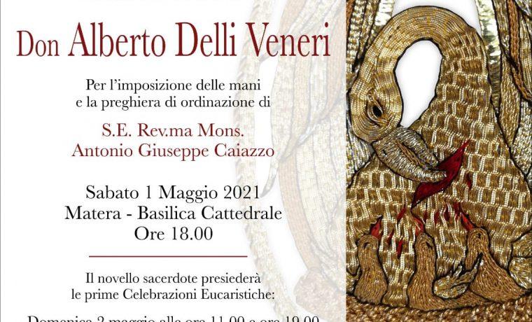 [Diretta] Ordinazione presbiterale del diacono Don Alberto Delli Veneri