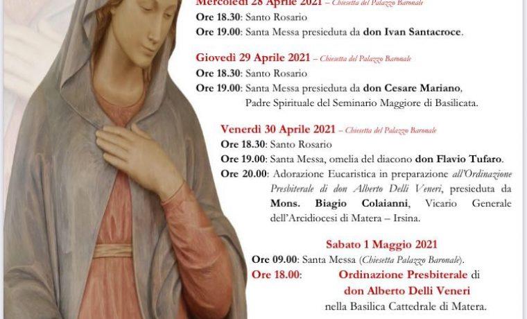 Novena Festa Patronale Maria Santissima Annunziata